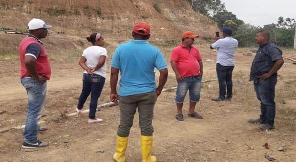 GESTIONES REALIZADAS PARA INTERVENIR EL BACHEO DE LA VIA